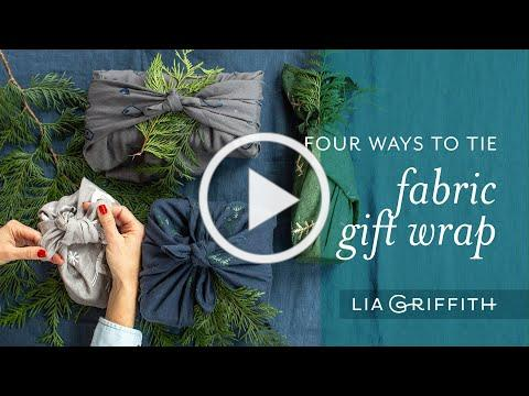4 Fabric Gift Wrap Techniques