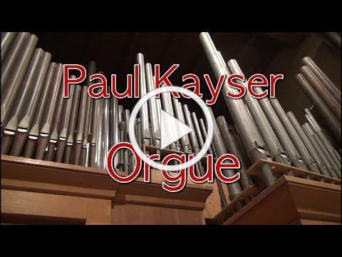 Paul Kayser plays