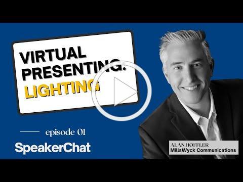 Virtual Presenting: Lighting
