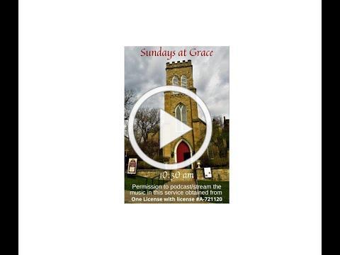 Grace Episcopal Church, Galena, IL, Sunday 11 22 2020
