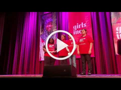 Girls Inc. of Long Island Girls Speak at Girls Inc. National Luncheon in NYC!
