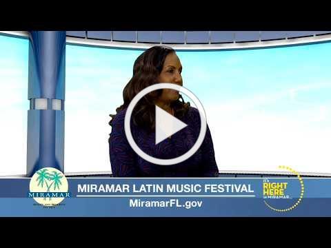 Commissioner Yvette Colbourne Discusses Latin Music Festival on WSVN-7