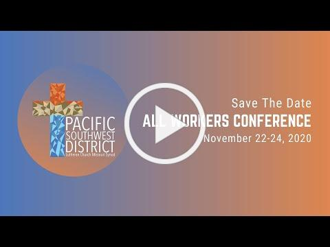 Save the Date! All Workers Conference