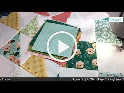 Next Step Template Quilting With Donelle McAdams Commercial