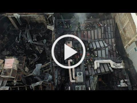Centro Arte Alameda: Incendio lo destruyó casi por completo