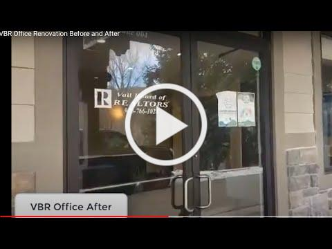 VBR Office Renovation Before and After