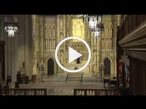 March 15, 2020: 11am Sunday Worship Service at Washington National Cathedral