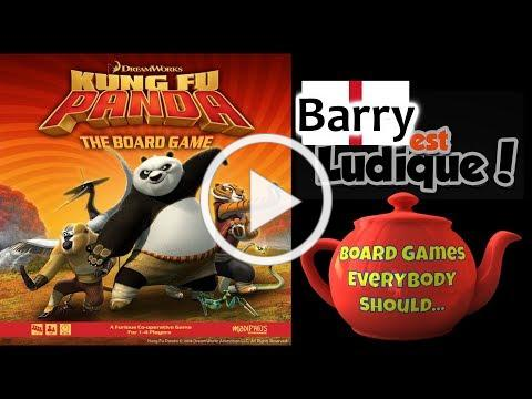Kung Fu Panda: The Board Game (Modiphius) Interview - PeL 2018