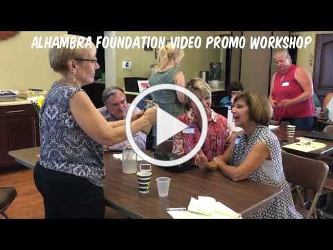 Video Promo Workshop - Alhambra Foundation & Unity of the Westside