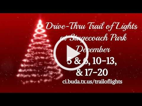 Drive-Thru Trail of Lights at Stagecoach Park