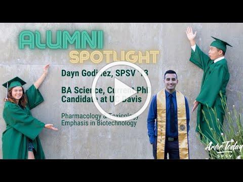 Alumni Spotlight: Dean Vogelpohl speaks with Dayn Godinez, SPSV '13 Current PhD Candidate, UC Davis