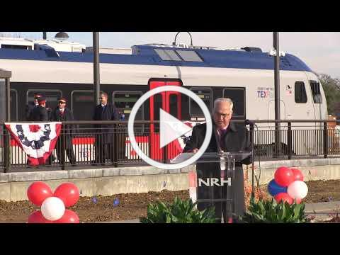 TEXRail Ribbon Cutting