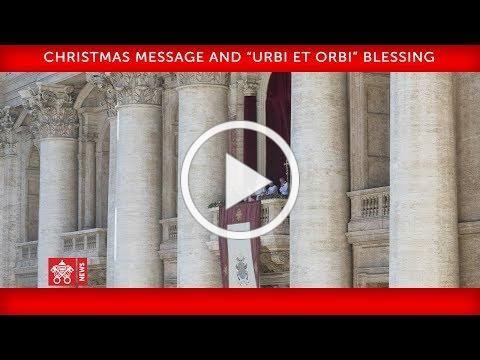 Pope Francis-Christmas Message
