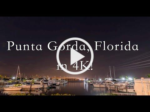 Punta Gorda, Florida in 4K!