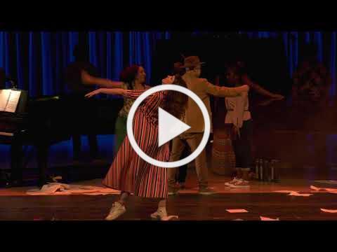 Rosie Herrera Dance Co performs in PIANO SLAM 12 at the Arsht Center in Miami in February 2019.