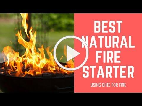Best Natural Fire Starter