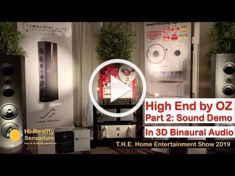 United Home Audio / High End by OZ (Part 2: Sound Demo), T.H.E. SHOW IN LONG BEACH 2019 (Binaural)