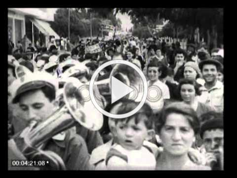 Celebration of Shavuot in 1937