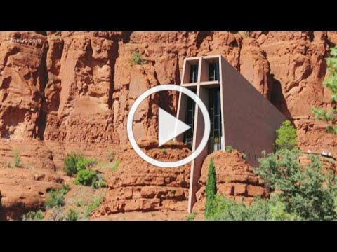 The Chapel of Holy Cross in Sedona targeted by vandal