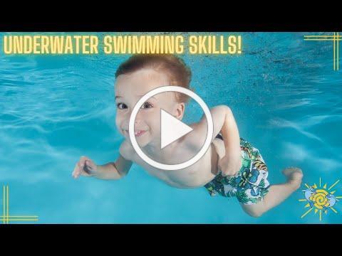 Working on Underwater Swimming Skills!