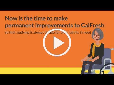 SB 882(Wiener): CalFresh-Simpler for Seniors