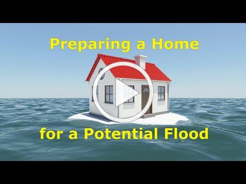 Preparing a Home for a Potential Flood