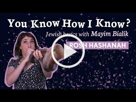 Rosh Hashanah with Mayim Bialik | You Know How I Know?
