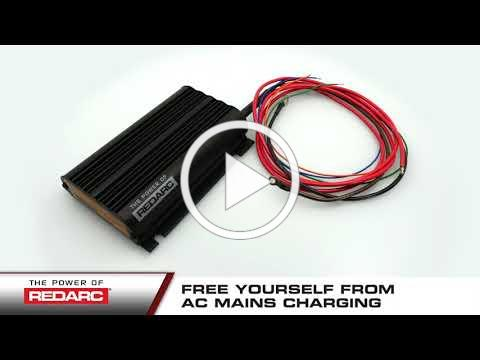 REDARC Trailer Battery Charger for tail lifts, Hiabs and winches