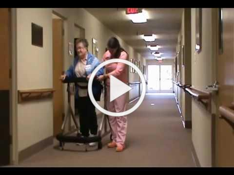 Making walking again a reality after a stroke
