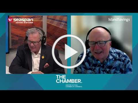A chat with View Royal Mayor David Screech   Chamber Chats