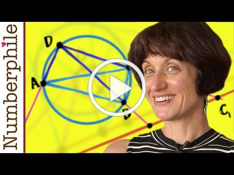 A Miraculous Proof (Ptolemy's Theorem) - Numberphile