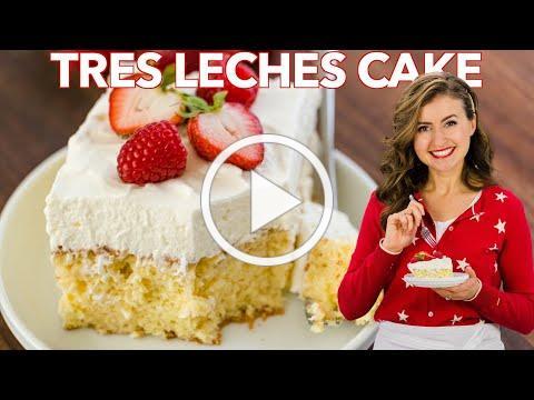 Easy Tres Leches Cake Recipe | Three Milk Cake