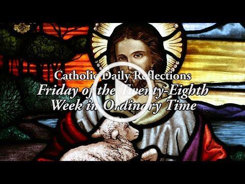 God's Attentiveness - Friday, October 16, 2020