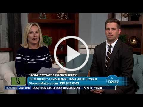 Divorce Matters on Channel 7's Mile High Living 10.15.19