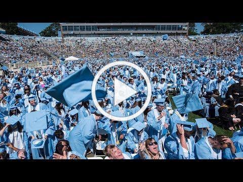 2018 Spring Commencement Ceremony | UNC-Chapel Hill