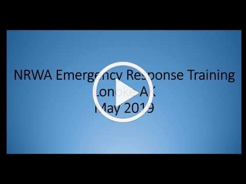 NRWA Emergency Response Training051719