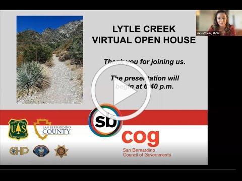 Lytle Creek Recreation Area Virtual Open House