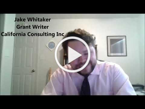 California Consulting FAQ Web Series - Why should we apply for grants?