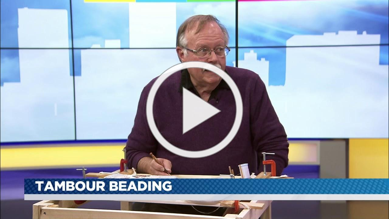 It's on! -Tambour Beading with Bob Haven