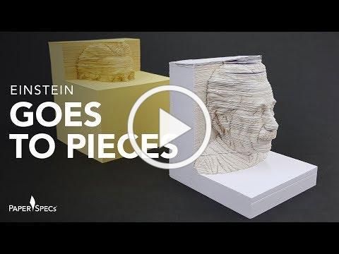 PaperSpecs.com | Paper Inspiration #364: 3D Einstein Memo Pad