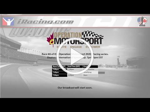 Operation Motorsport - Daytona International Speedway iRacing Event