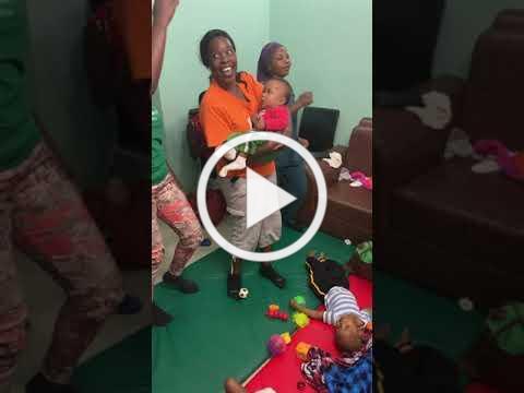 Neema Village Special Needs Moms sing IMG 2273
