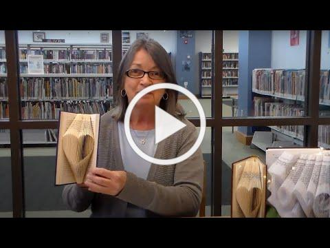 Book Folding with Miss Sharron: Heart for Valentine's Day
