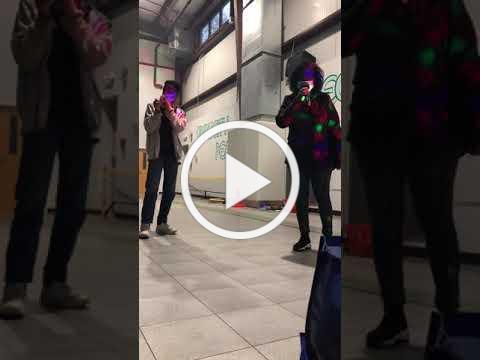 Israel and his Mom Karaoke