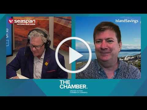 A chat with Colwood Mayor Rob Martin   Chamber Chats