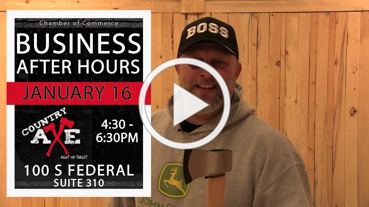 Business After Hours hosted by Country Axe