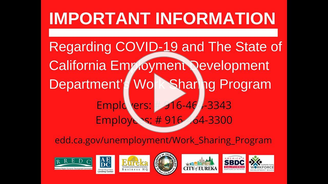 Keep your Business Together with Help from the CA EDD's Work Sharing Program!