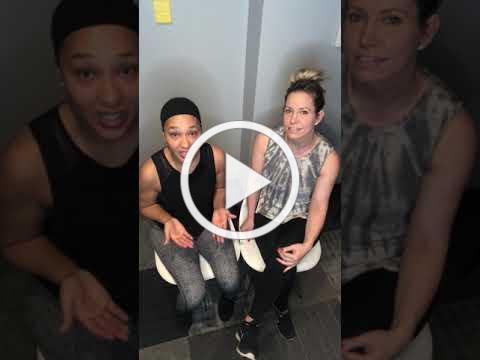 Temple Fitness Johnna and Linda Semi Private Training video