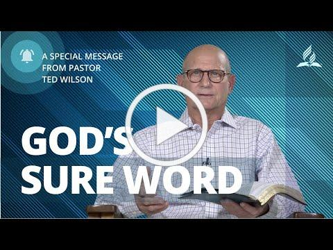 Pr Wilson Shares How God Gives Us Encouragement Through His Word