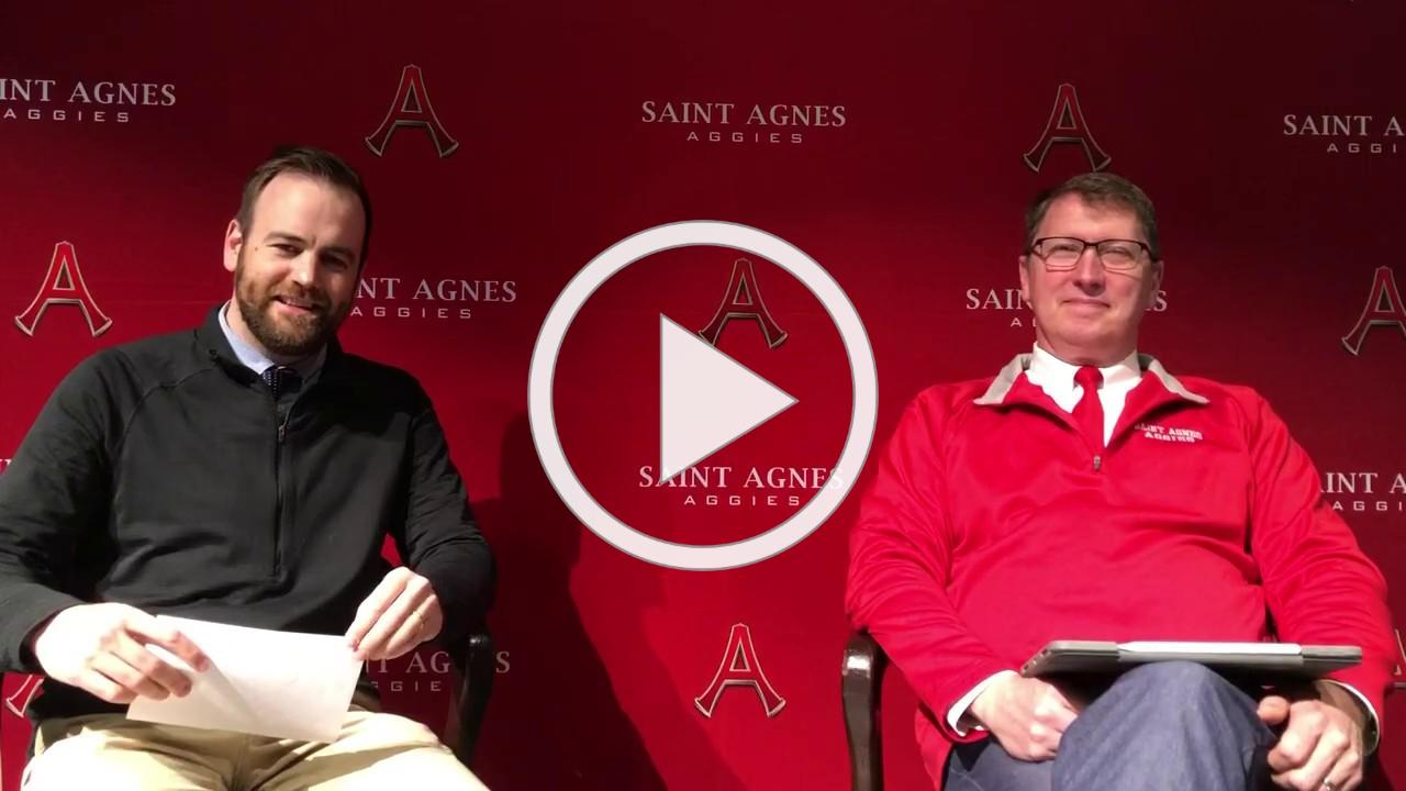 Admissions and Enrollment Update from Joseph Olson and Kevin Ferdinandt - Saint Agnes School
